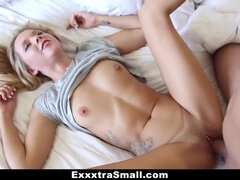 ExxxtraSmall - Step Brother-In-Law Takes Advantage of tiny Sis