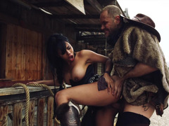 Post apocalyptic fucking with a naughty Latina girl