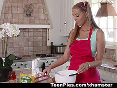 TeenPies- pigtail hotty Gets cootchie Filled Up