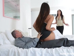 Cute Latina Katya Rodriguez fucked by an older stepfather
