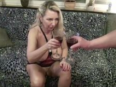 Neighbour Lure German Soccer mom to Have an intercourse with Wine Tasting