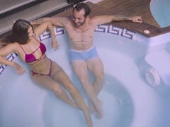 Hard Sex Poolside Cunt Workout Susy Gala