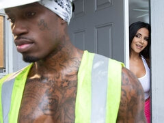 Rose Monroe Bangs Construction Worker