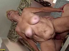 furry 89 years aged granny rough banged
