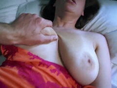 Son fucks his sleeping Mommy