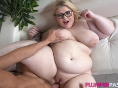 Milky-skinned BBW hot porn video