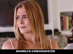 BADMilfs - Step-MOM Jacks Off and furthermore Gets down and dirty Step-Son