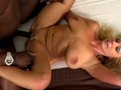 Lustful Mommy Interracial Sex