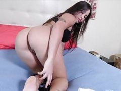 Taboo gal plowed by guys dick before dick sucking