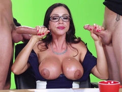 Busty Milf fucked and glazed with cum