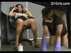 Hot Lesbo Clean Carpet