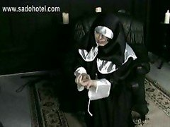 Sinful Nun Begs For Forgiveness But Is Spanked On H