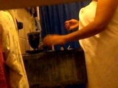 mexican in shower
