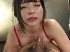 Oriental Takes An Oral Genital cumshot Plays And Swallows