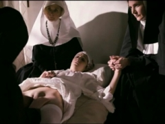 Innocent hot nuns cant resist their lez temptation