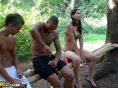 Forest mad sex party