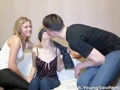 From blindfolded blowjobs to foursome group fucking