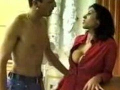 Arab Mom i`d like to fuck Takes Advantage Of Nude Boy