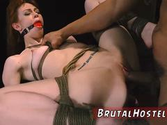 Extreme rough black sex and family slave Soon after arriving at Hostel Bruno the