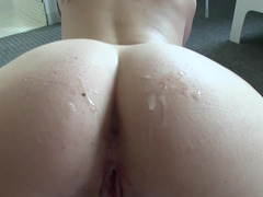 Sweetie with sinful mouth and tasty ass has no camera shy