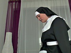 German Grandma Nun get Fucked with not dad in SexTape