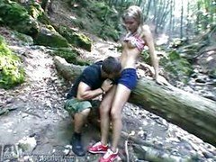 Sophie Moone rectal in the woods (rare video)