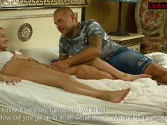 Hottest blondie Ricci getting fucked