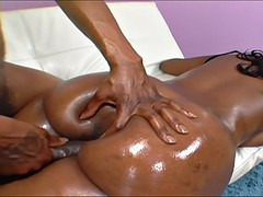 ebony bbw tootsie ass takes the mac