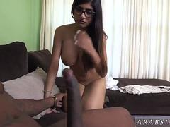 Teen short shorts Mia Khalifa Tries A Big Black Dick