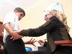 Boy and furthermore mature dame part1