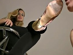 shoe worship pov