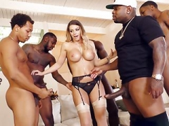 Brooklyn Chase BBC Gang-fuck