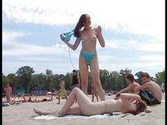 Beautiful Russian Nude Beach 18-19 year-old chicks