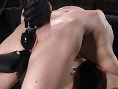 Sex Babe Alexa Nova Pinioned and besides Coerced to Fuck