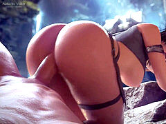finest of Lara Croft
