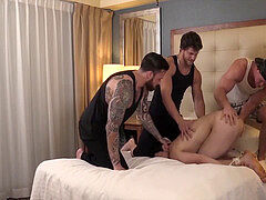 gang of warm muscle dudes plow hard tied up guys a-hole