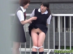 japanese students urinate
