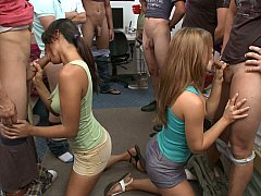 College in dick sucking party