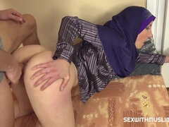Tempting Muslim Teacher Bella Angel Gives Special Lesson