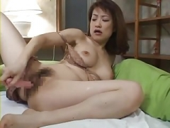 Japanese Mom i`d like to fuck Masturbate 9