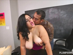 Full-Bosomed Latina Supersized Big Beautiful Women Karla Lane