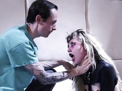 BurningAngel Emo 18-19 year old Nympho Rough Fucked in Padded Cell