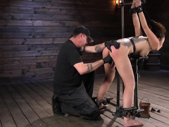 Roxanne Rae likes to receive pleasure even it's a BDSM scene