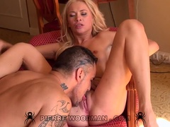 Terka Angeline and Lindsey Olsen - XXXX - bed + 2 boys