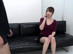 UNCENSORED CFNM japanese bj with messy cumshot