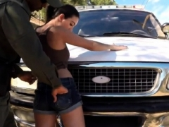 Police raid rough sex totally hardcore Latina Babe Fucked By the Law
