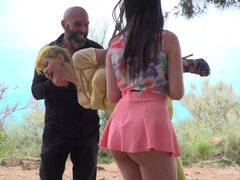 Beautiful Spanish Slut Gets Disgraced Like a Pig! - Part 1