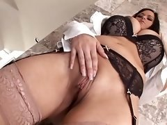 hot busty chick gets assfucked