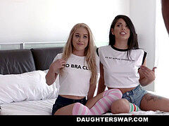 DaughterSwap - StepDaughters Free the nip