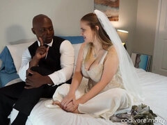 Codi Vore - Wedding Bells BIG BLACK COCK